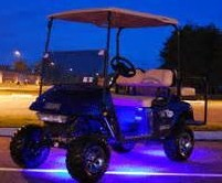 Purple LED Underbody Lights ... awesome!